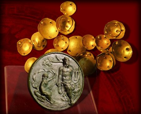 Gold Treasure dated 4500-4000 B.C